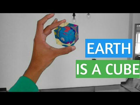 EARTH IS A CUBE IT IS NOT ROUND OR FLAT.... thumbnail