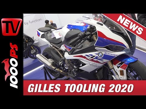 Entzückende Optik, grandiose Verarbeitung // Gilles Tooling Zubehör Neuheiten 2020 // EICMA 2019