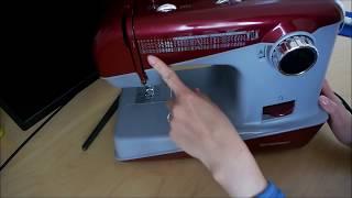 Základní nastavení šicího stroje