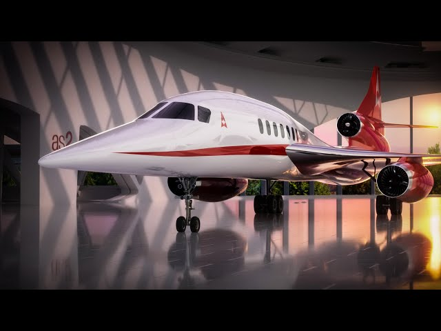 Introducing the New AS2 Supersonic Jet | Aerion Supersonic