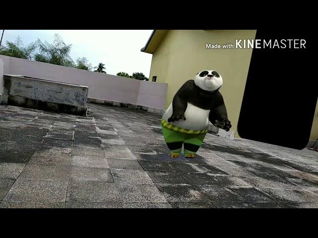 Kung fu panda dance on teri aankhn ka yo Kajal Mr Incredible