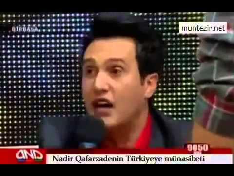 Türk Düşmanı Azerbaycanlı Sanatçı Stüdyoda İstenmeyince Gidiyor (Türkiye Azerbaycan)