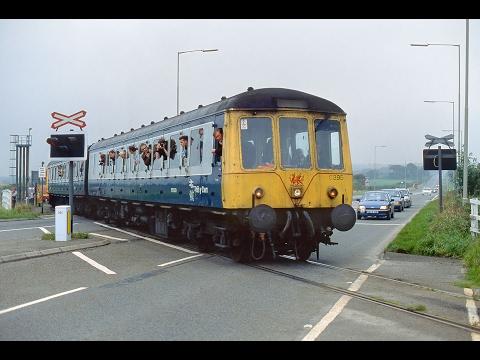 DMU Demise Railtour, South Wales, 26 September 1992