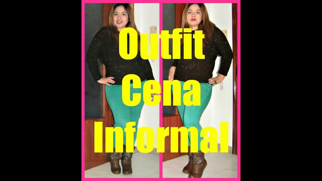 Outfit cena informal youtube for Look para cena informal amigas