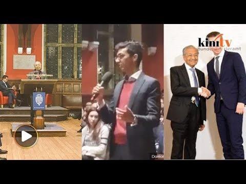 Dr M diasak Austria,  Pelajar pertahan tindakan asak Dr M