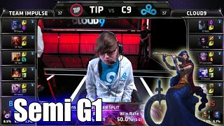Team Impulse vs Cloud 9 | Game 1 Semi Finals S5 NA LCS Regional Qualifier for Worlds | TIP vs C9 G1
