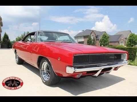 dodge charger rt test drive classic muscle car  sale  mi vanguard motor sales youtube
