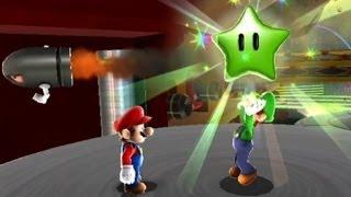 Super Mario Galaxy 100% Walkthrough - Part 13 Honeyclimb, Gusty Garden and Battlerock Galaxies
