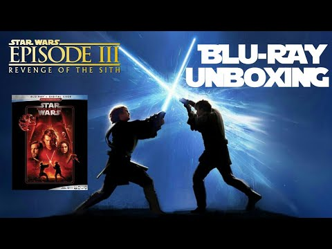 Star Wars Revenge Of The Sith Blu Ray Unboxing Youtube