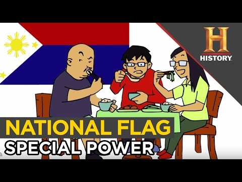 Philippines National Flag Special Meaning. Peace & War is Just a Flip Away | The History Hustle