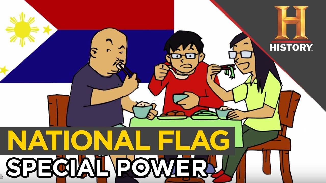 Philippines National Flag Special Meaning Peace War Is Just A