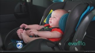Try It Before You Buy It: SensorSafe car seats by Evenflo