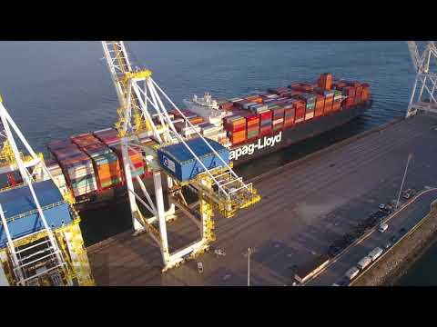 GCT Deltaport Welcomes Hapag Lloyd Antwerpen Express
