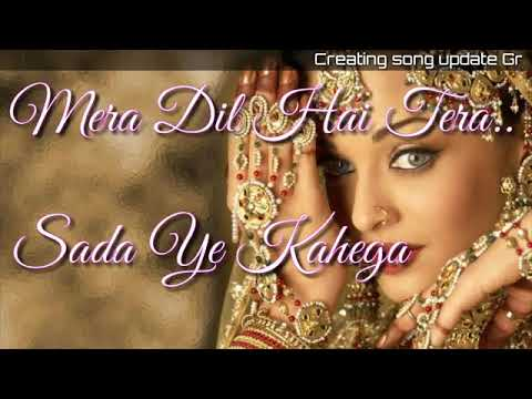WhatsApp Status Video Song ~_mera Pyar Tujhse....Sada Ye Kahega ~