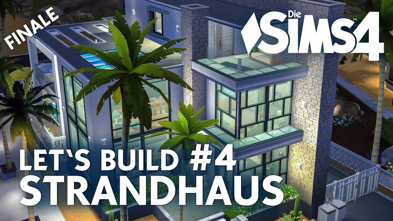 die sims 4 let 39 s build strandhaus 4 haus bauen cp geheimkeller deutsch youtube. Black Bedroom Furniture Sets. Home Design Ideas