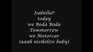 Isabella-sauti sol Lyrics