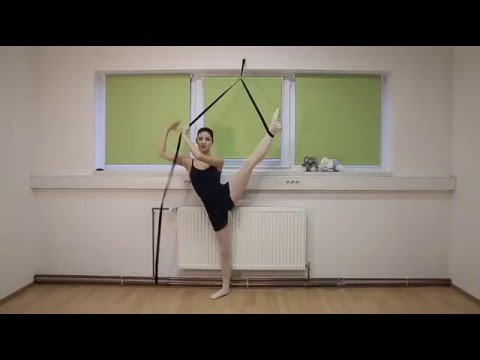 Instructional Video How To Exercise With Ballet Flex Stretch Band