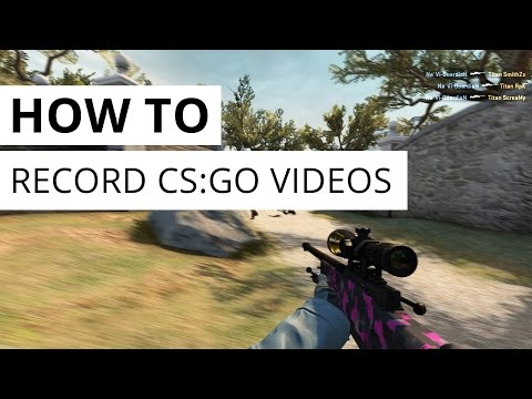 How To: record CS:GO videos [with HLAE & 60fps rendersettings]