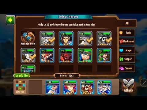Magic rush heros island crusade