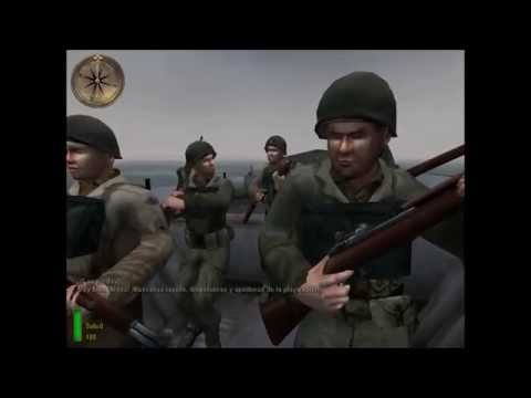 Medal Of Honor Allied Assault [Mission 3- Operation Overlord] *HD*  Hard Mode (Dificil) subs Esp.