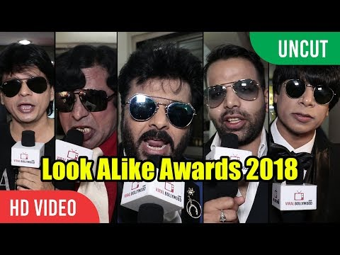 UNCUT - Look ALike Awards 2018 | Shahrukh Khan, Akshay Kumar, Anil Kapoor, Shashi Kapoor And Many...