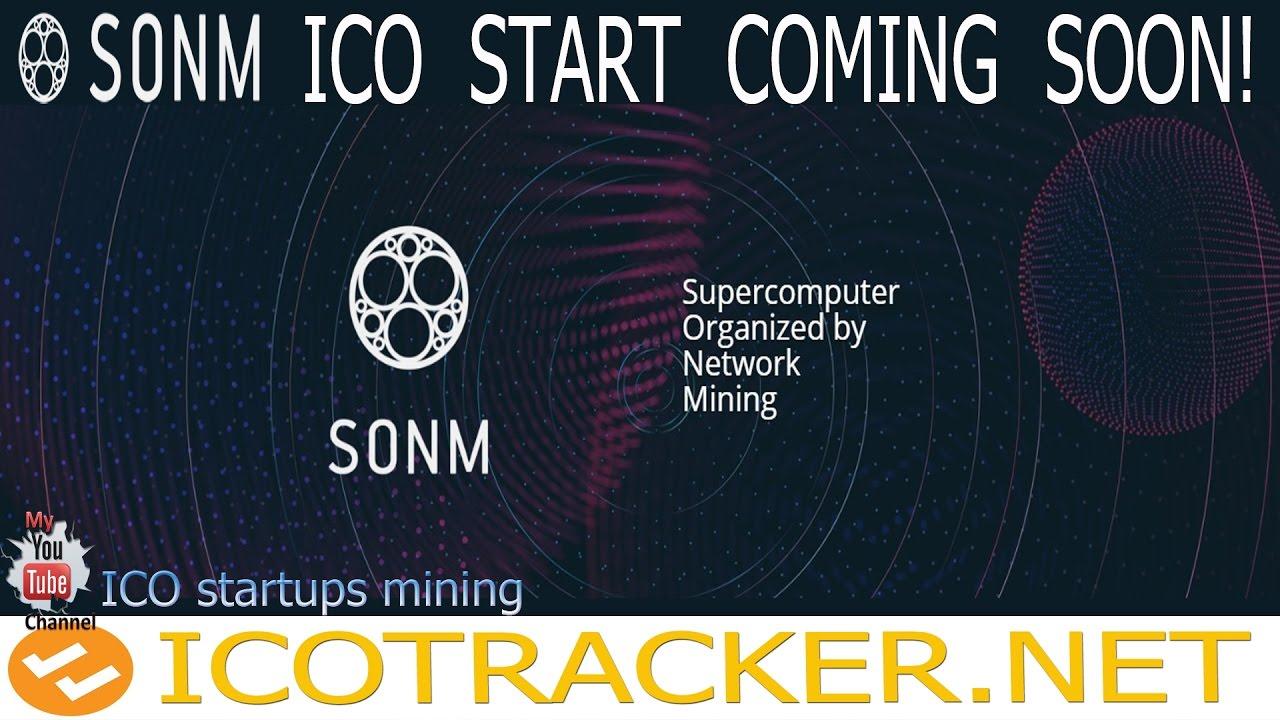 SONM ICO - это децентрализованный универсальный компьютер! Старт ИКО 1 Мая!