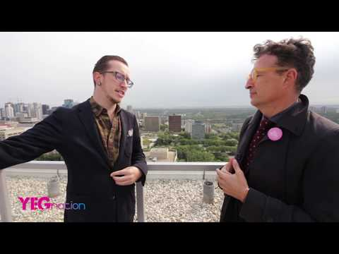 "Edmonton Elections: Vieri Berretti ""We Can Make Edmonton the Best it can Be"" - Ward 10"