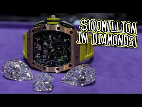$100million in diamonds!
