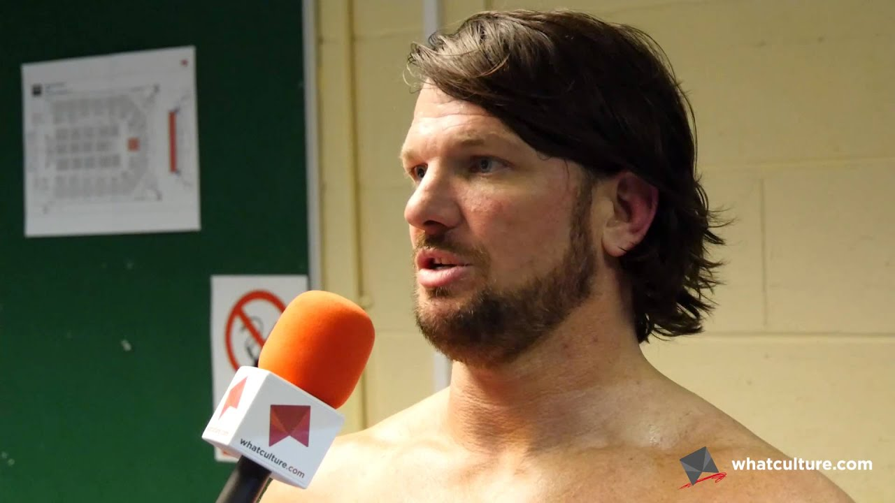 Adam Kenny Vs AJ Styles Interview 5 Wrestling YouTube