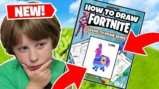 DRAWING FORTNITE SKINS - DO THESE AMAZON BOOKS REALLY WORK?