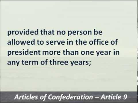 Articles of Confederation - 1777 - Hear and Read the First US Constitution
