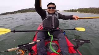 Kokanee fishing after the snow Shaver Lake
