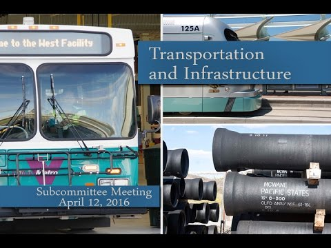 Phoenix City Council Transportation & Infrastructure Subcommittee Meeting, April 12, 2016