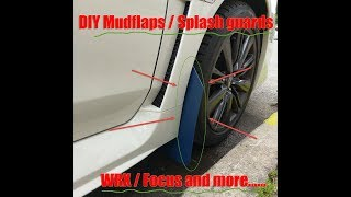 Video DIY Mudflaps for WRX and other rally and non rally vehicles... download MP3, 3GP, MP4, WEBM, AVI, FLV Juli 2018