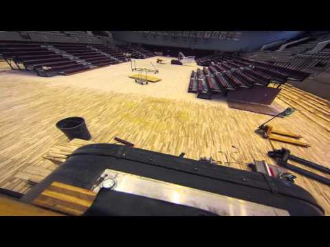Time Lapse Video of Floor Installation in NCCU's McDougald-McLendon Arena