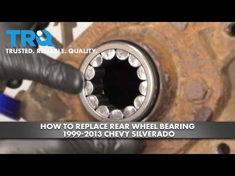 How to Replace Rear Wheel Bearing 1999-13 Chevy Silverado