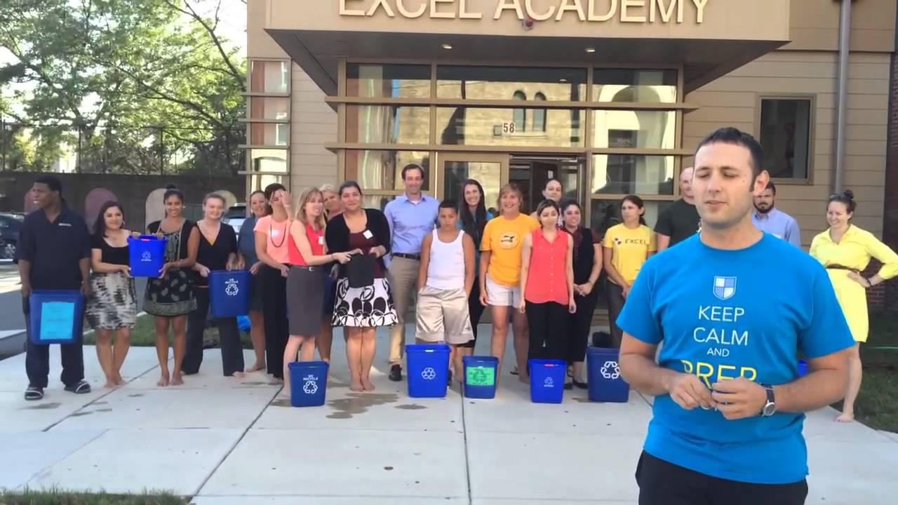 Excel academy staff icebucketchallenge charter schools also youtube rh