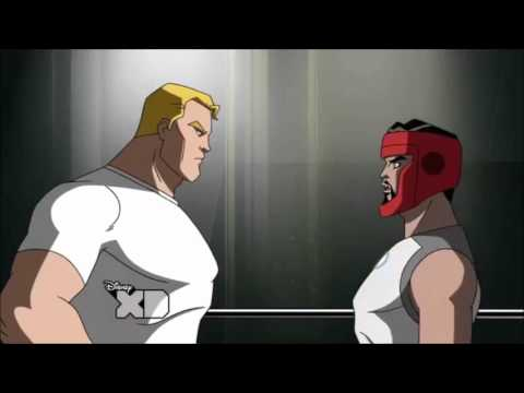Avengers: Earth's Mightiest Heroes - Boxing Scene