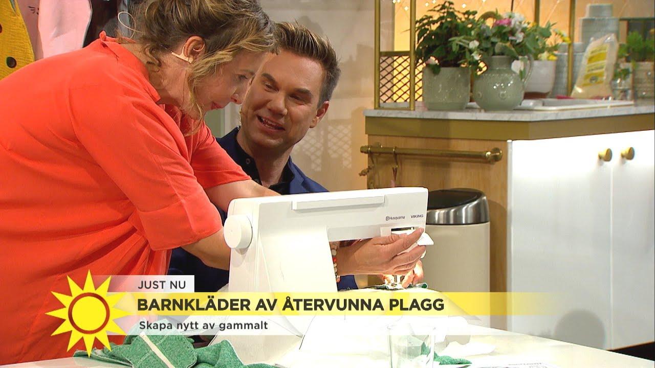 Det är inte alltid så lätt - här visar Anders sina sykunskaper - Nyhetsmorgon (TV4)