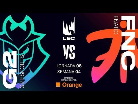G2 vs FNATIC | LEC | Spring Split [2019] League of Legends