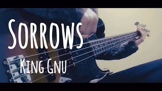 Cover images Sorrows/King Gnu【bass】