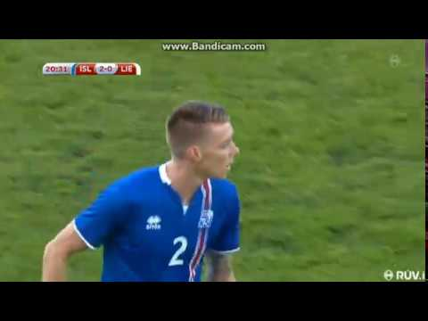 Birkir Már Saevarsson - 1st goal in National team!