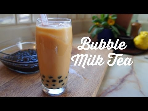 How to Make Bubble (Boba) Milk Tea