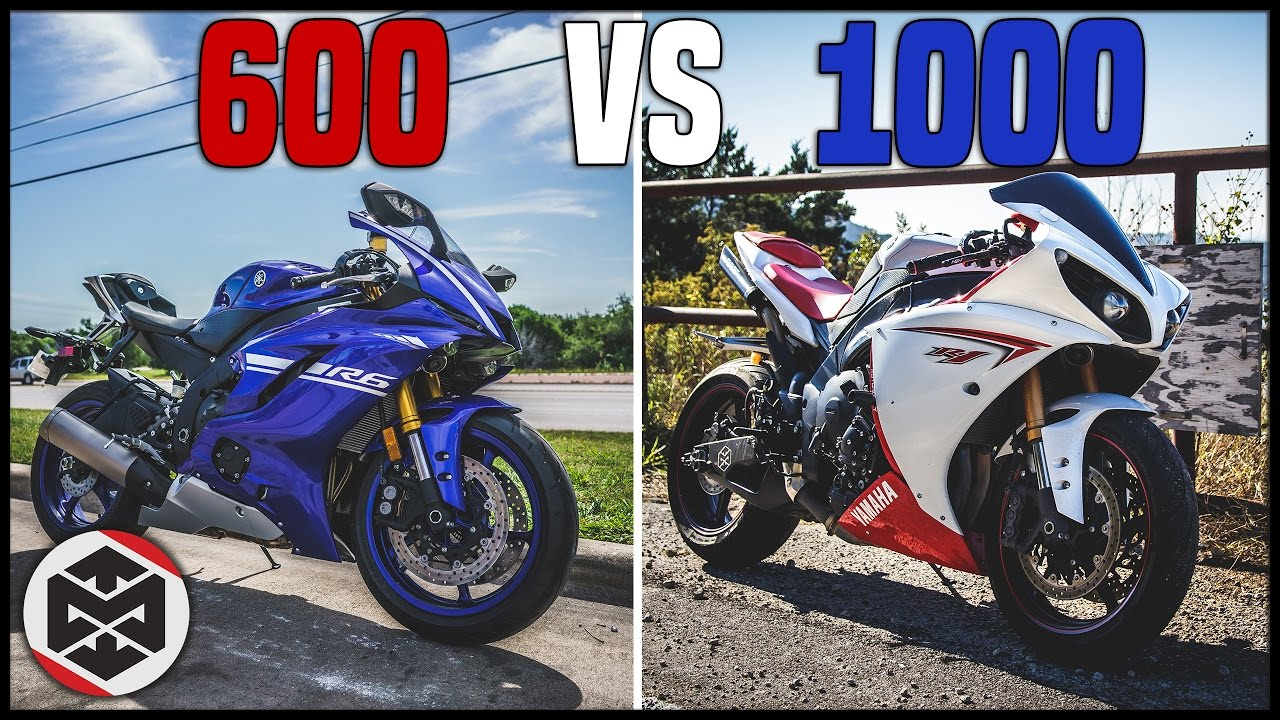 600cc vs 1000cc which motorcycle to get youtube