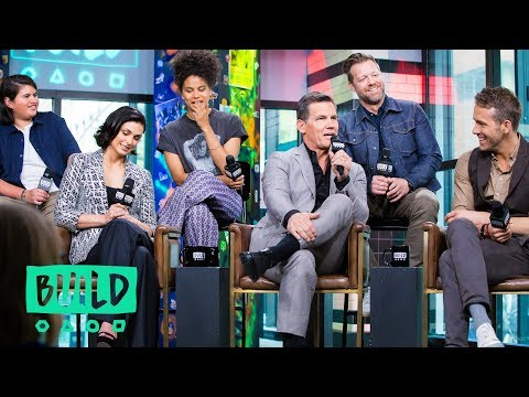 """The Cast & Director of """"Deadpool 2"""" Chat About The Highly-Anticipated Movie"""