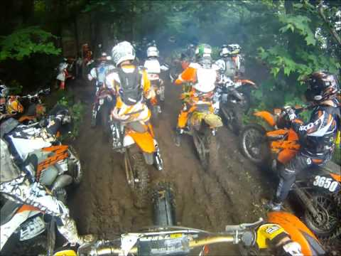 Crazy Dirt Bike Hare Scramble Bottleneck