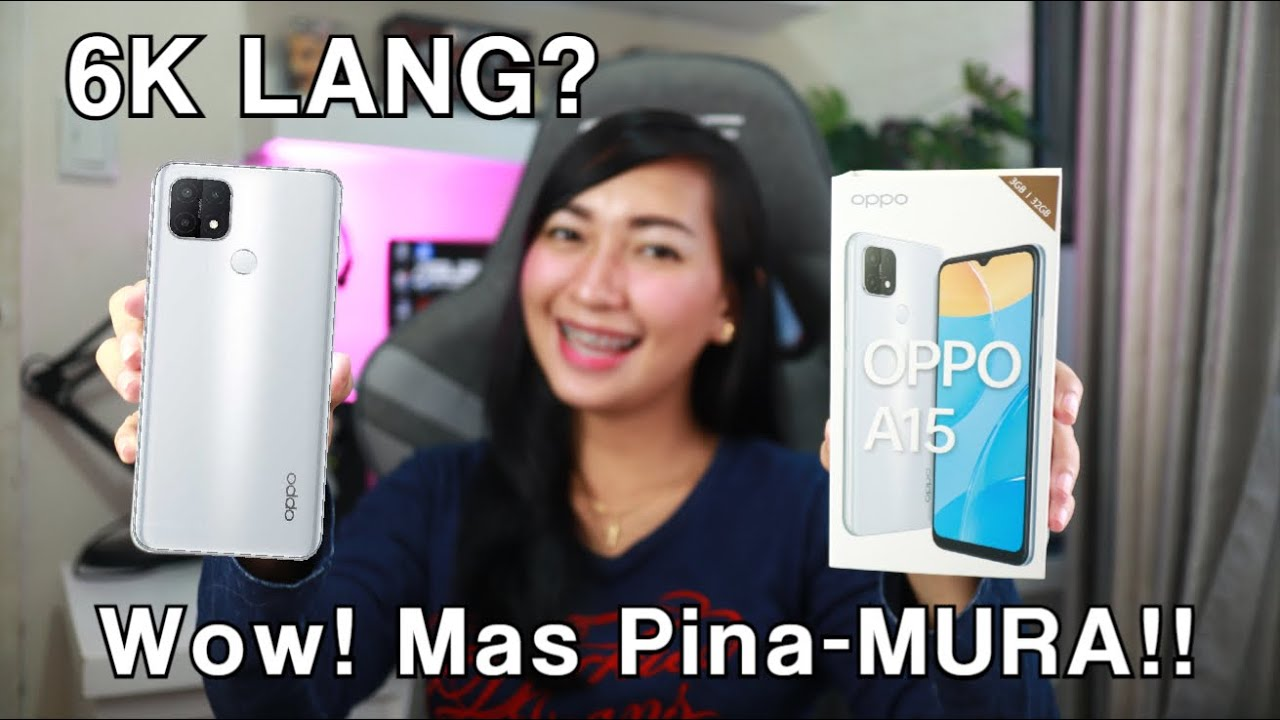 Download OPPO A15 x BASEUS : Unboxing & Review