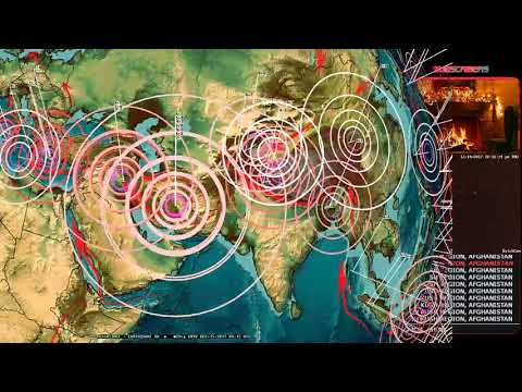 12/14/2017 -- Deep earthquakes strike -- New seismic unrest brewing -- Alaska volcano erupts