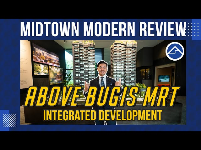Midtown Modern [Integrated Development above Bugis MRT Station] | BlkBuster Ep13