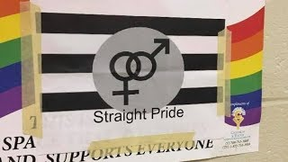 Straight Students Fight To STOP Gay-Straight Alliance | Using Bullying, Threats and Vandalism